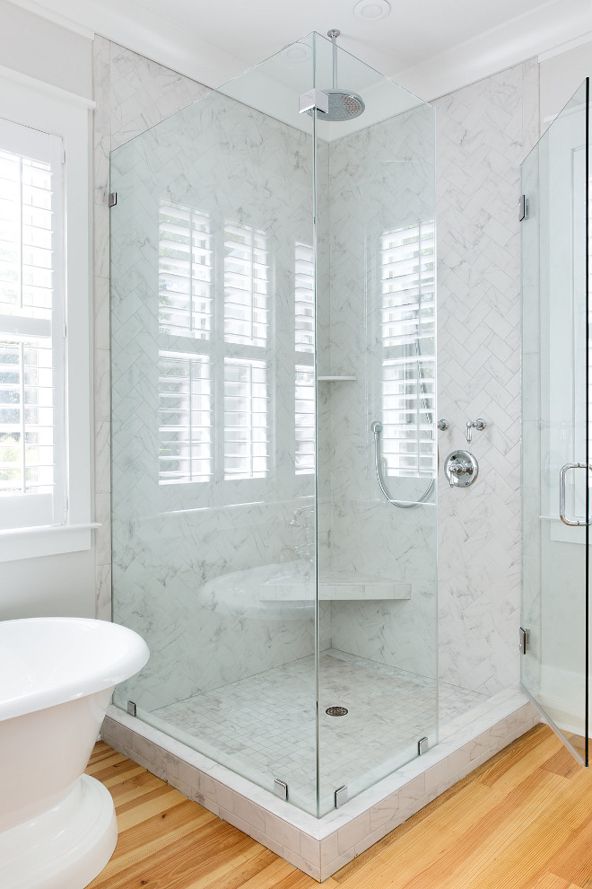 White Marble Herringbone Shower White Marble Herringbone Shower White Marble Herringbone Shower White Marble Herringbone Shower #WhiteMarble #Herringbone #Shower