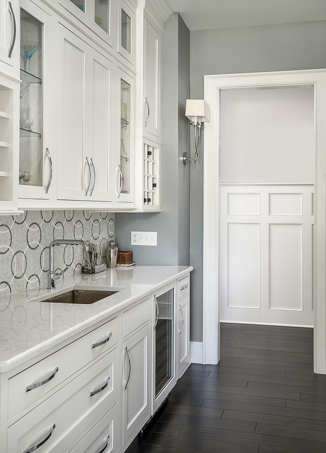 White and grey Butler's Pantry White and grey Butler's Pantry White and grey Butler's Pantry White and grey Butler's Pantry #Whiteandgrey #ButlersPantry