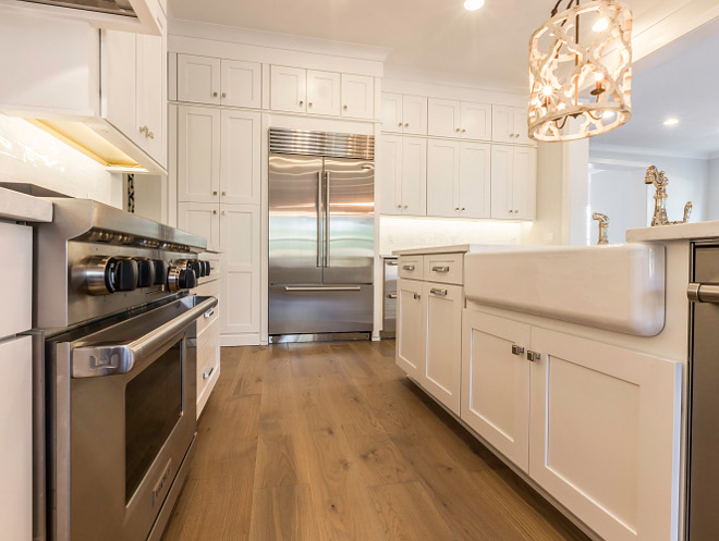 Kitchen White oak Hardwood Flooring source on Home Bunch