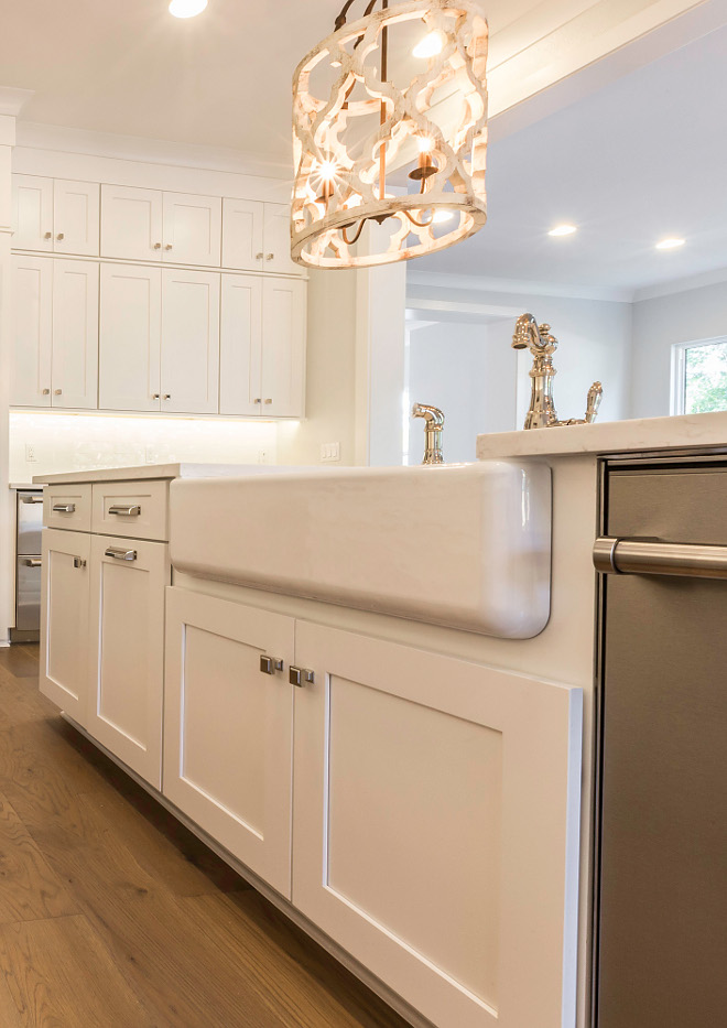 Best White paint color for kitchens on Home Bunch