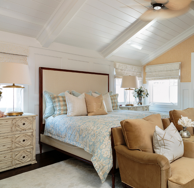Bedroom Colours Photos Bedroom Entrance Bedroom Lighting Wayfair Bedroom Sitting Area: Classic Coastal Interior Inspiration