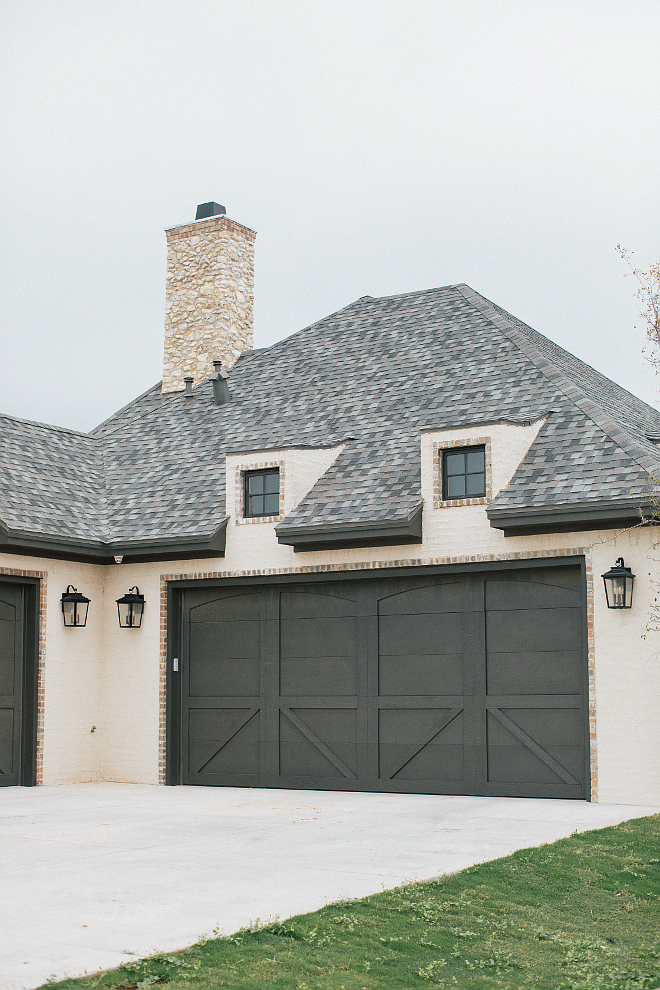 Grey Roof Grey Roof with dark garage doors Grey Roof #GreyRoof