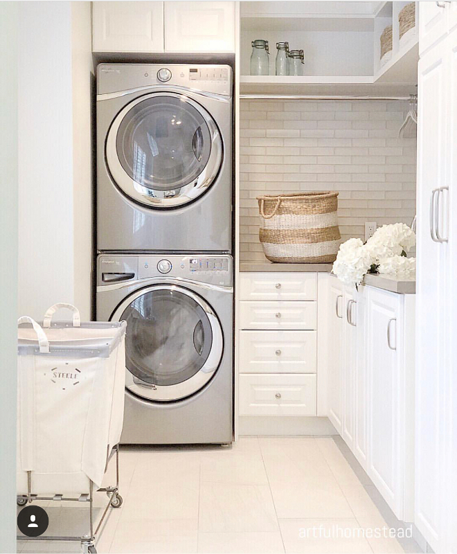 Small Laundry Room Best ideas for Small Laundry Rooms Small Laundry Room soulitions Small Laundry Room #SmallLaundryRoom