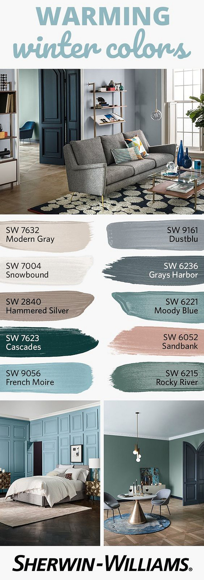 #PaintColors #SherwinWilliams