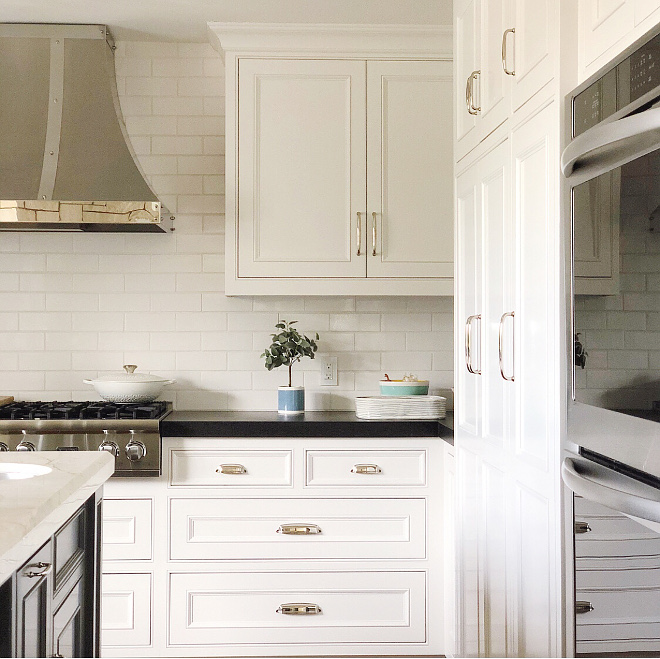 White Kitchen Color Cabinet Whisper White by Behr White Kitchen Color White Kitchen Color White Kitchen Color #WhiteKitchen #Color #cabinetcolor