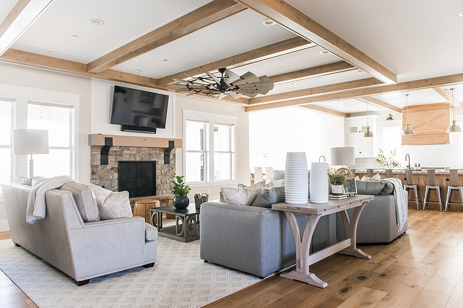 Family room Modern farmhouse Family room Family room