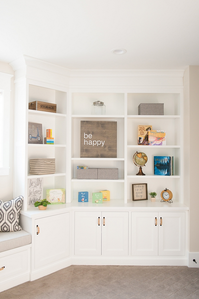 Playroom Custom Cabinet