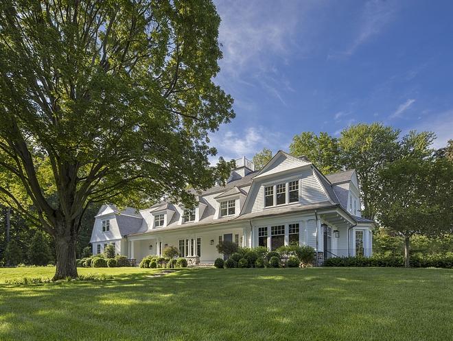 Classic Gambrel Home Design Classic Gambrel Home Classic Gambrel Home #ClassicGambrelHome
