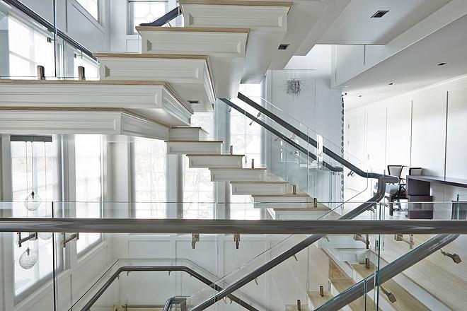 Modern Stairway Hamptons home Stairway Stairway #Stairway