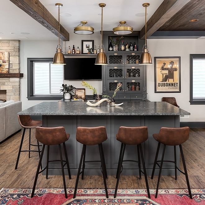 Reclaimed Beams Bar Ceiling Ideas Reclaimed Beams #ReclaimedBeams #Bar