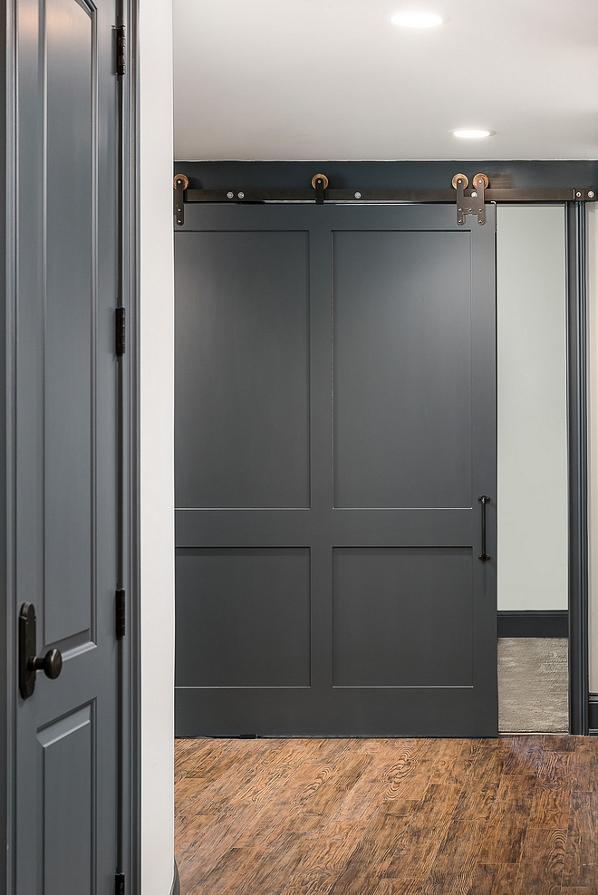 Grey Barn Door Paint Color Benjamin Moore Raccoon Fur Grey Barn Door Paint Color Ideas Benjamin Moore Raccoon Fur #GreyBarnDoor #PaintColor #BenjaminMooreRaccoonFur
