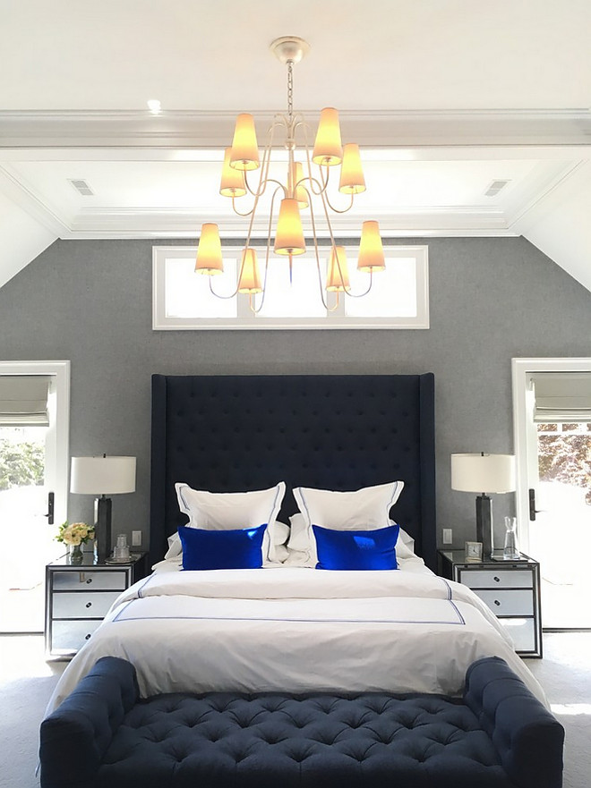 Bedroom Chandelier High ceiling Bedroom Chandelier ideas Bedroom Chandelier source on Home Bunch #Bedroom #Chandelier