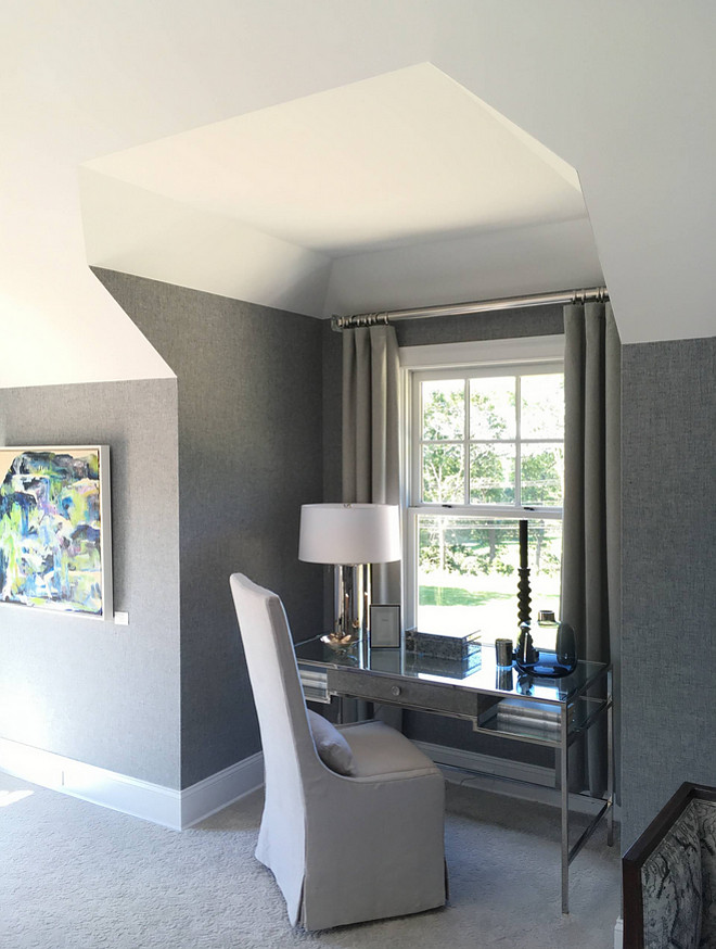Herringbone wallpaper Herringbone wallpaper source on Home Bunch #Herringbonewallpaper