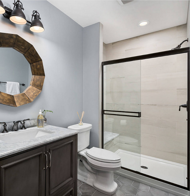 Basement Shower Ideas Basement Bathroom Shower #Basement #bathroom #shower
