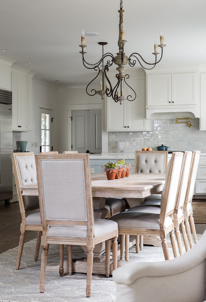 Open concept Dining Room source on Home Bunch