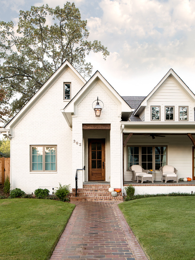 Farmhouse Brick Exterior sources on Home Bunch