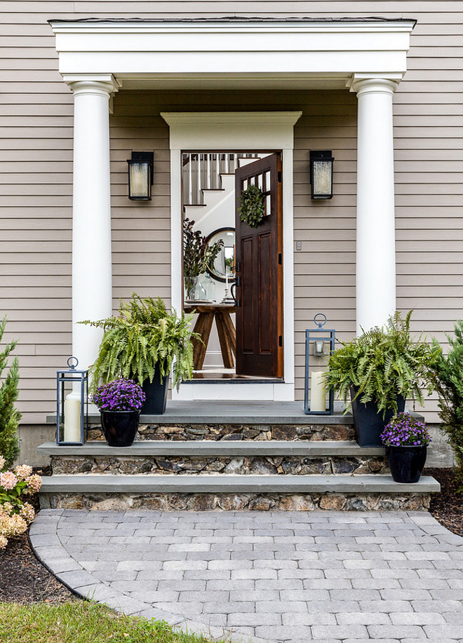 Front Door Planters sources on Home Bunch