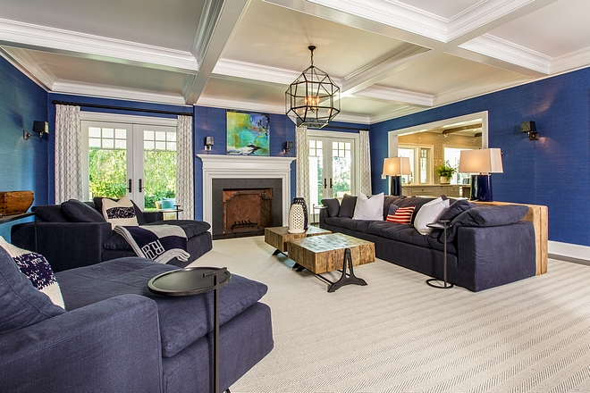 Navy Family Room Navy Family Room Navy Family Room Navy Family Room #NavyFamilyRoom