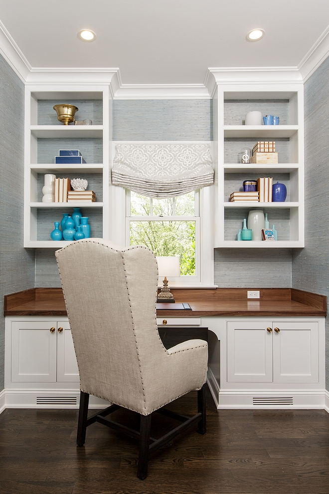 Home Office Nook Home Office Nook Home Office Nook sources on Home Bunch Home Office Nook #HomeOfficeNook