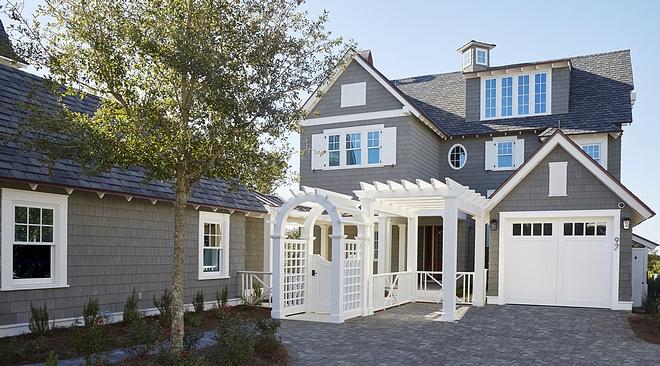 Gray Exteriors Shingle home exterior Gray Exteriors Gray Exteriors Gray Exteriors Gray Exteriors #GrayExteriors