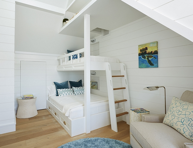 Shiplap Kids Bunk Room Shiplap Kids Bunk Room Best ideas for Shiplap Kids Bunk Room Shiplap Kids Bunk Room #ShiplapbunkRoom #kidsbunkRoom