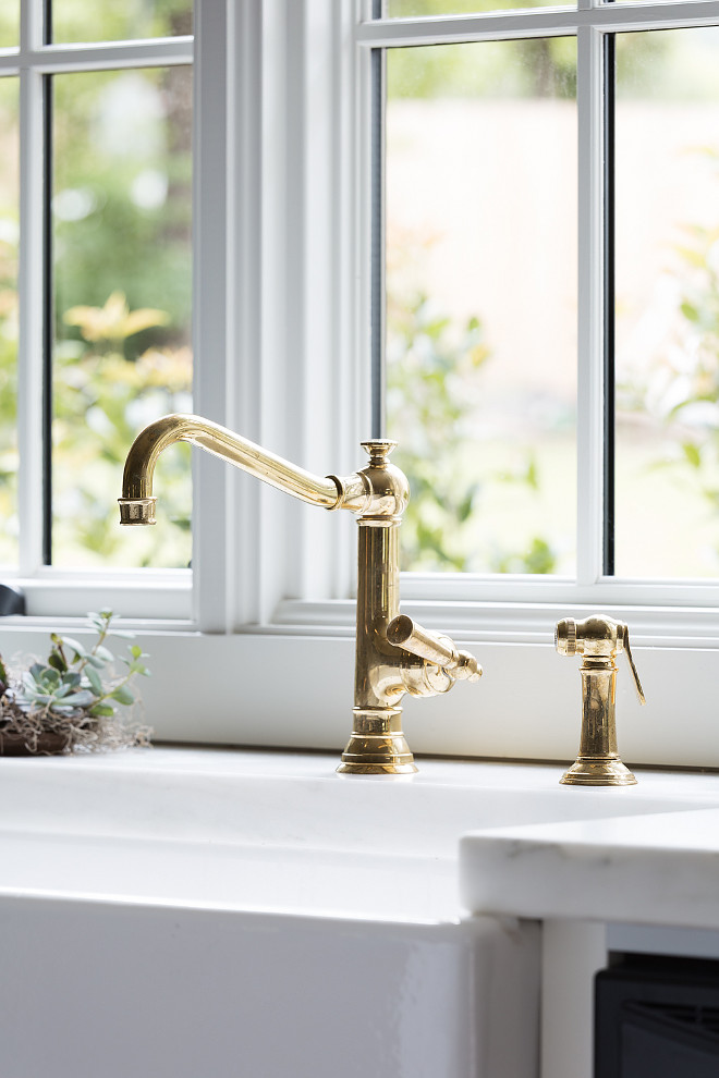Kitchen faucet source on Home Bunch