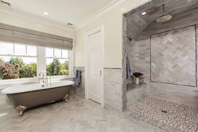 Bathroom Tile Combination source on Home Bunch