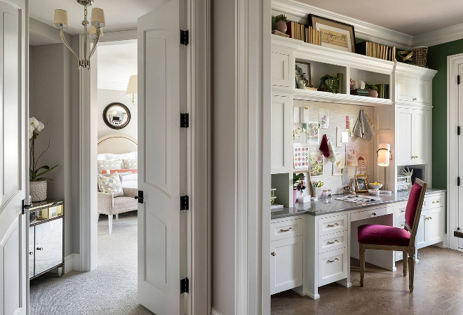 Home office by master bedroom sources on Home Bunch