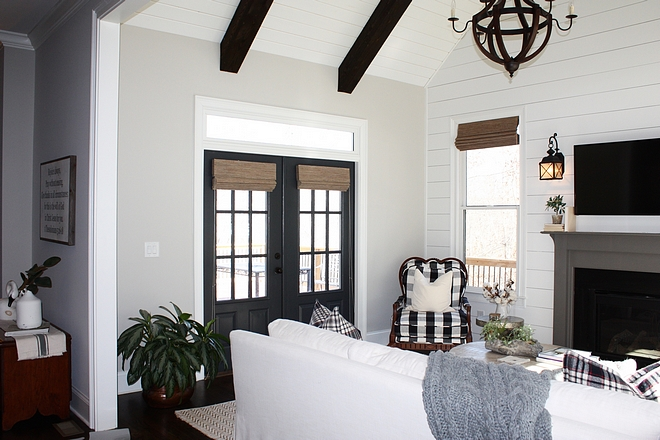 Dark grey French doors Dark grey French doors Dark grey French doors