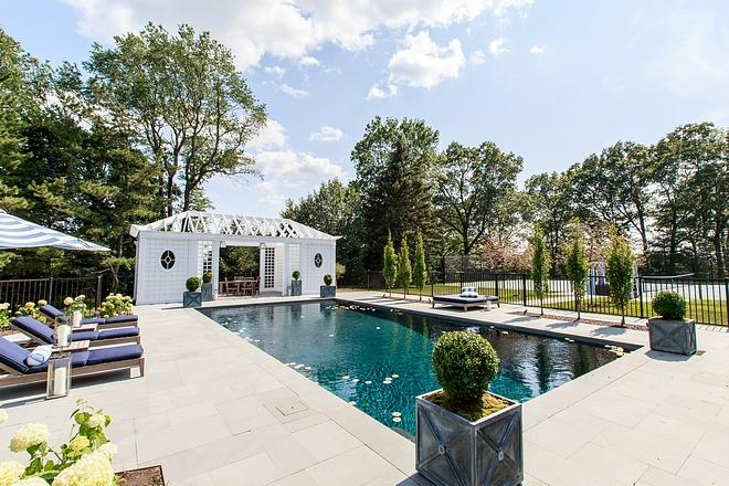 Pool pergola Pool pergola source on Home Bunch #Pool #pergola