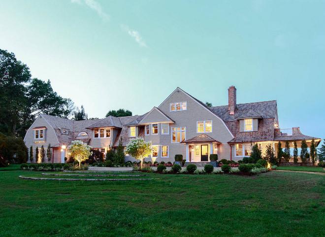 Shingle Home front elevation