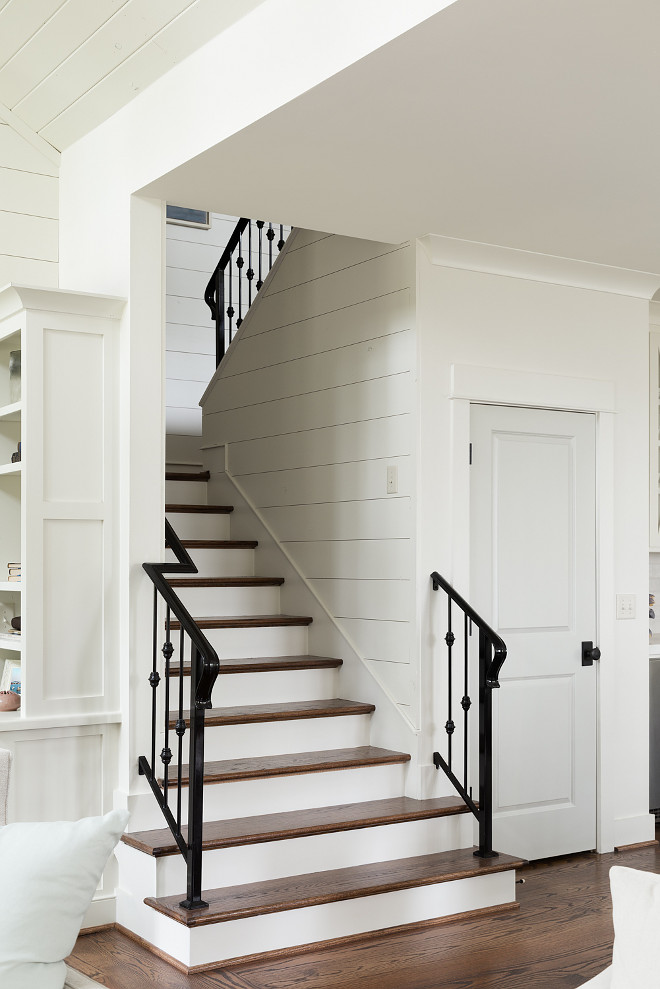 Shiplap Stairway sources on Home Bunch