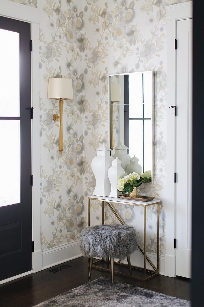 Foyer Wallpaper Foyer Wallpaper Source on Home Bunch Foyer Wallpaper #Foyer #Wallpaper