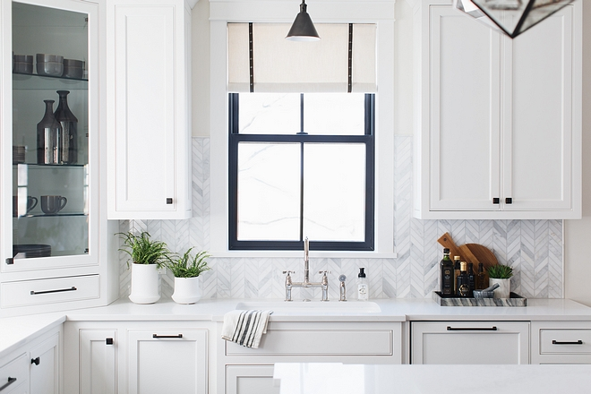 Kitchen Window Kitchen Window ideas Kitchen Window source on Home Bunch #KitchenWindow