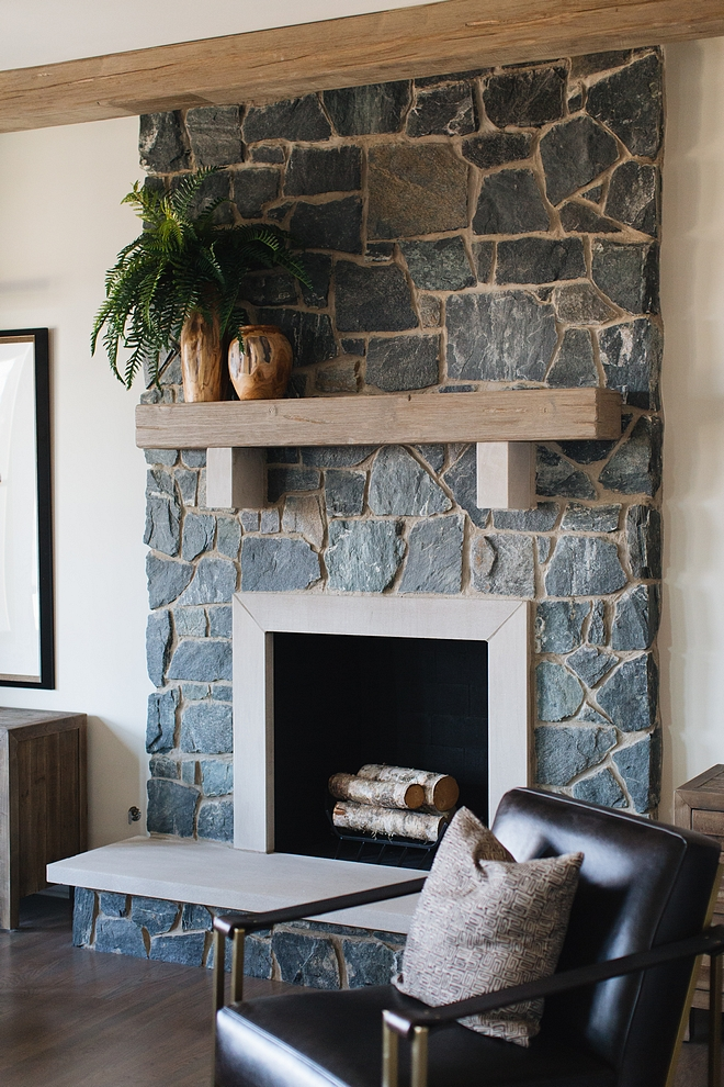 Stone Fireplace with reclaimed beam mantel Farmhouse Stone Fireplace with reclaimed beam mantel Stone Fireplace with reclaimed beam mantel Stone Fireplace with reclaimed beam mantel #StoneFireplace #reclaimedbeam #beammantel