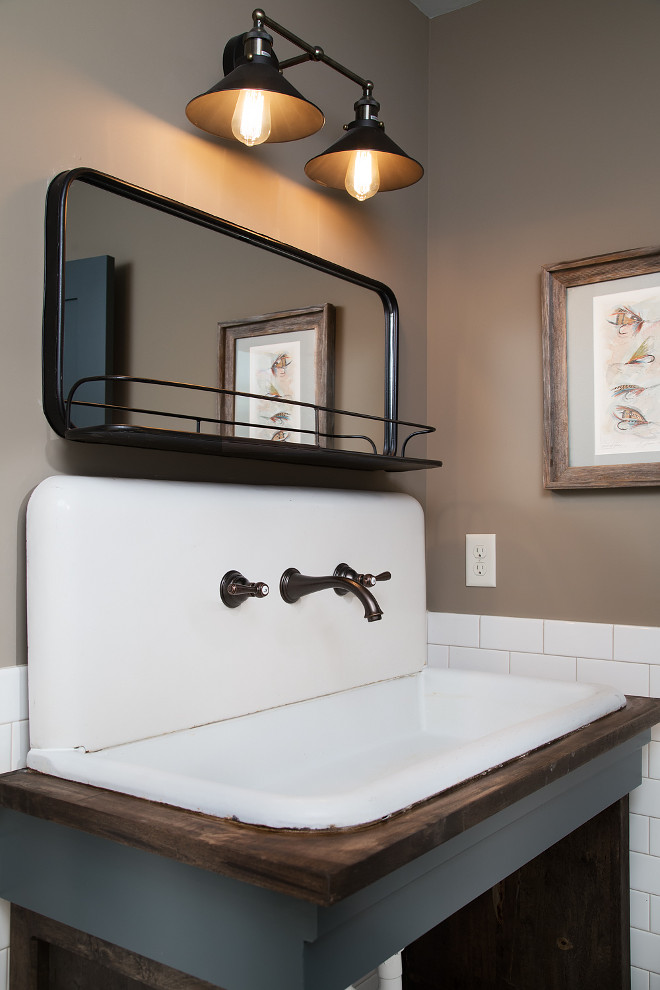 Vintage Farmhouse Bathroom Sink