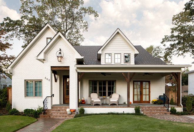 White Brick Farmhouse