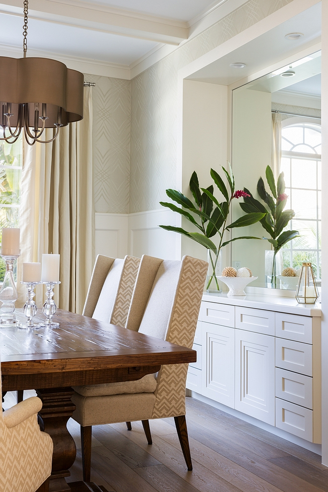 Dining Room Built in Buffet Dining Room Dining Room Built in Buffet and wainscoting Dining room Buffet and wainscoting #diningroom #builtinBuffet #wainscoting