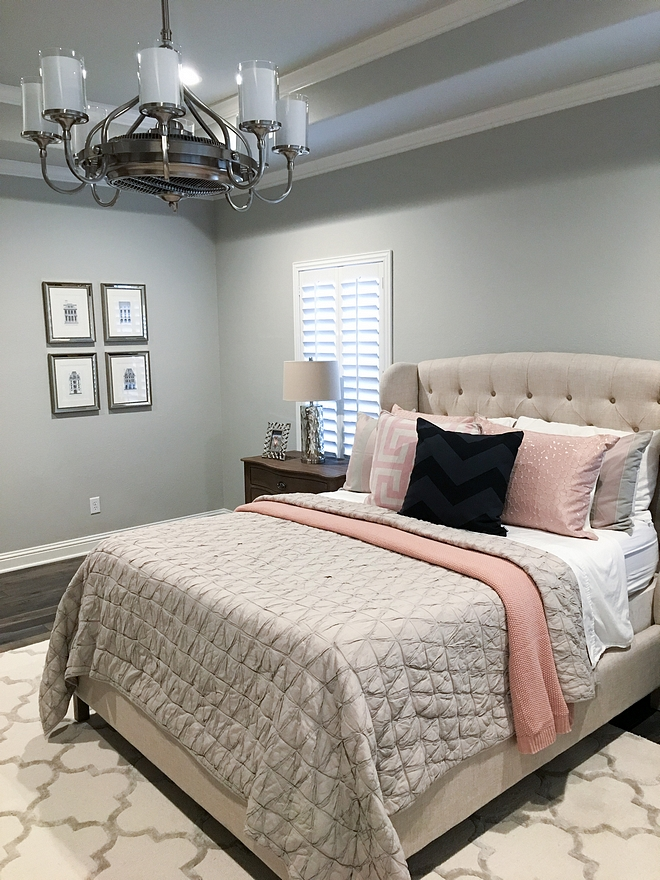 Repose Gray Master Bedroom Savoy House Etesian 8 Light Air Ionizing Fandelier This Chandelier Is Also  A Ceiling Fan Source