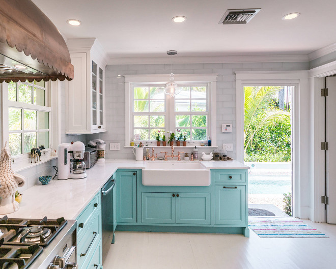 Turquoise Kitchen Design Home Bunch Interior Design